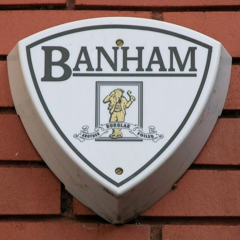Banham burglar alarm, Kensington, 2010