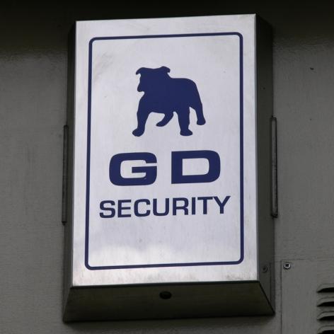 GD Security burglar alarm