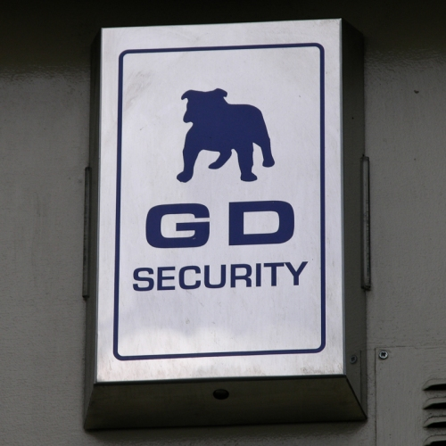 GD Security burglar alarm