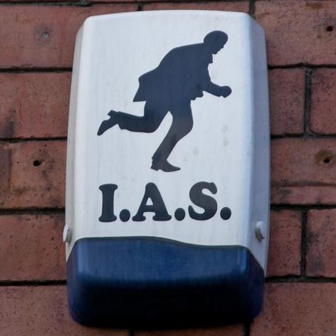 IAS burglar alarm, Sheffield, 2010