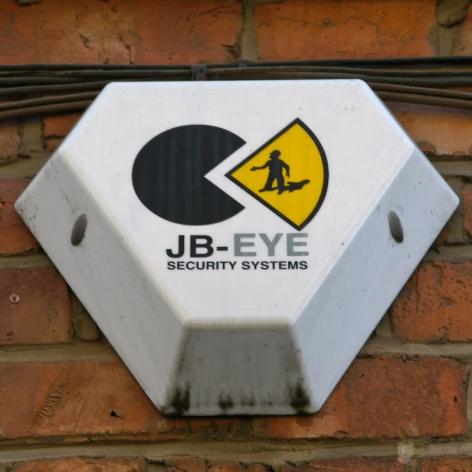JB-Eye burglar alarm, Manchester, 2009