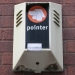 """Pointer"" burglar alarm with ""Vandal"" sticker, Glasgow, 2010"