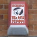 Securitech burglar alarm, Exeter, 2009