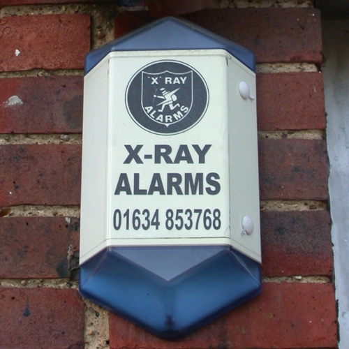 X-Ray Alarms burglar alarm, Hersham, 2002