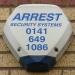 Arrest burglar alarm Glasgow 2010