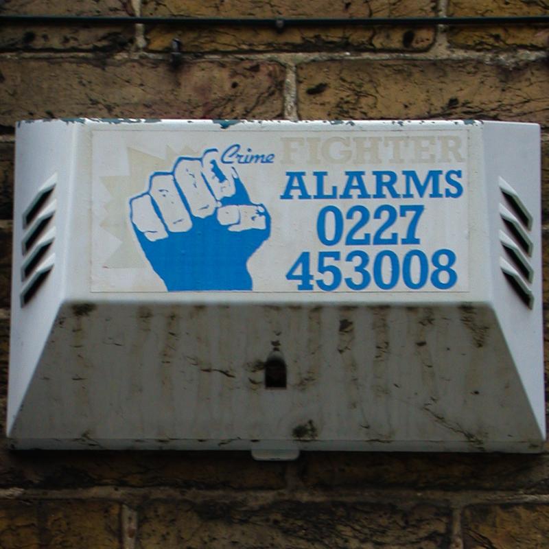 Crime Fighter burglar alarm, Whitstable, 2002