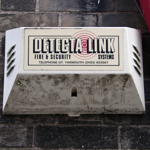Detecta Link burglar alarm, Lowestoft, 2007