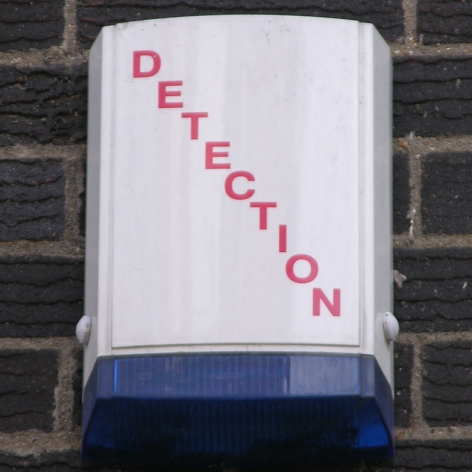 Detection burglar alarm City of London 2010