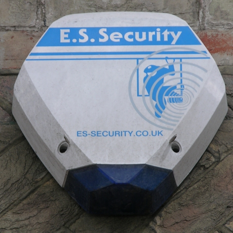 ES Security burglar alarm, Southwark, 2010
