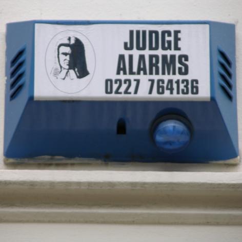 Judge burglar alarm Herne Bay 2004