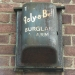Rely-a-Bell burglar alarm, Three Colts Lane London E2, 2007