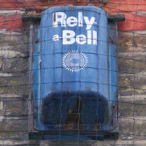Rely-a-Bell burglar alarm, Wentworth Street London E1, 2010