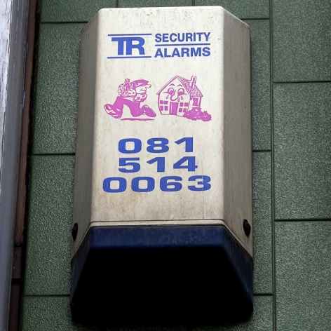 TR Security burglar alarm, Tower Hamlets, 2010