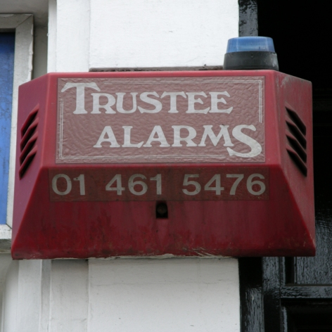 Trustee burglar alarm Westminster 2004