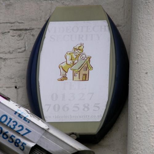 Videotech burglar alarm Islington 2010