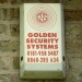 """Golden Security Systems"", Brent: dull but gilded"