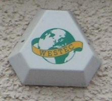 Correct Westec logo, photo by Mike Hardesty