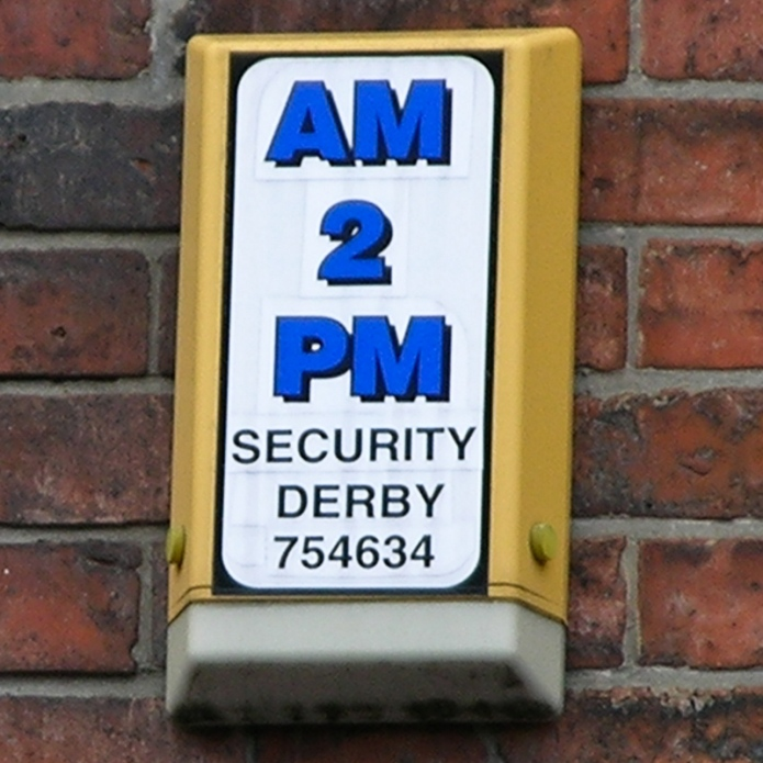 AM 2 PM Security Derby