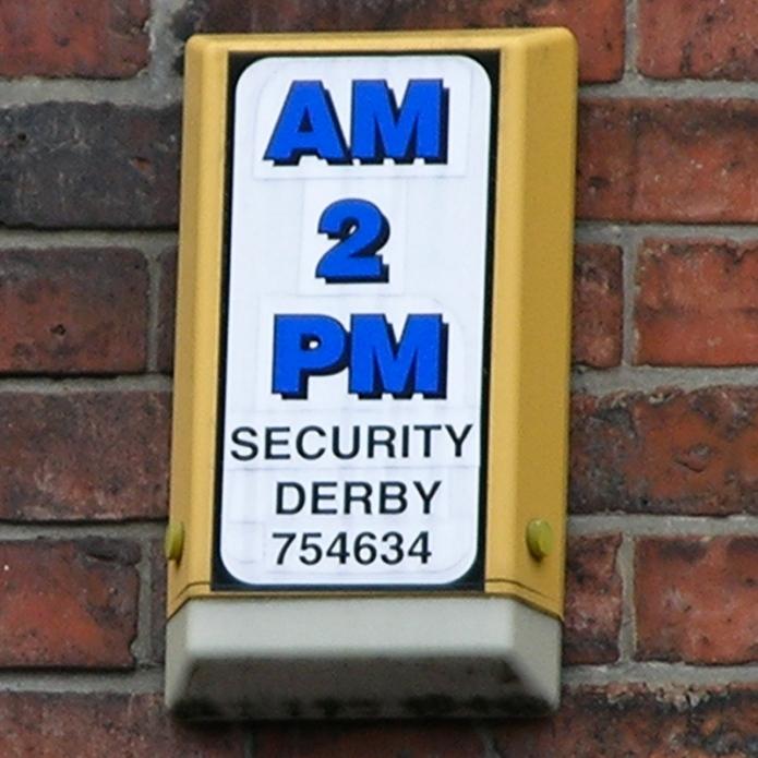 AM 2 PM Security Derby