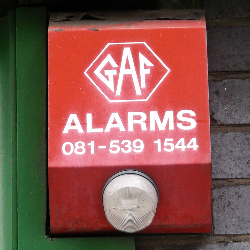 GAF Alarms