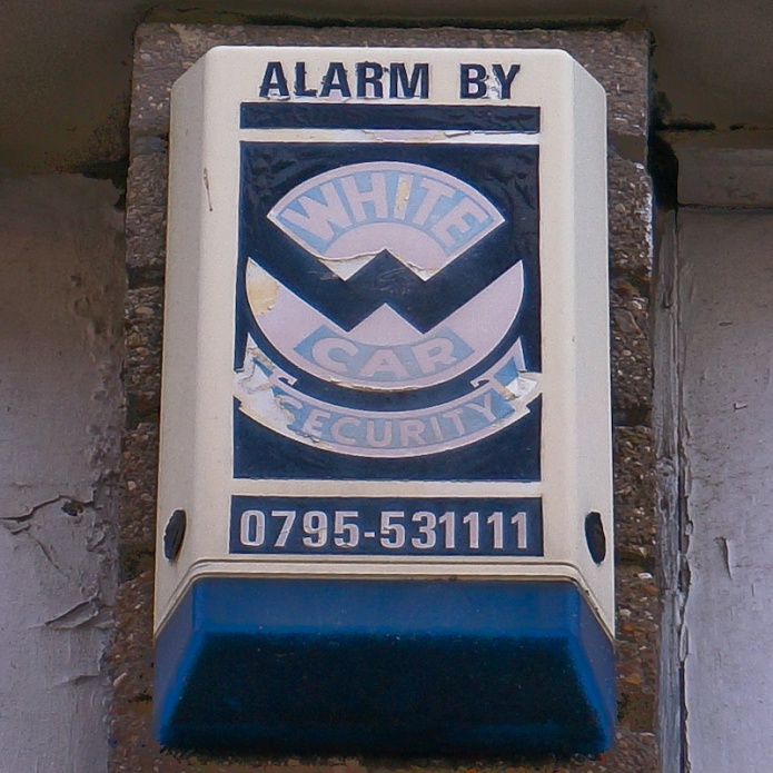 Alarm by White Car Security