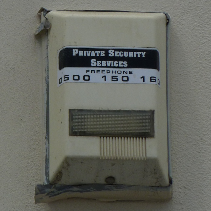 Private Security Services Freephone