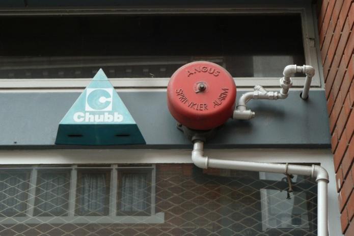 Chubb, Angus Sprinkler Alarm