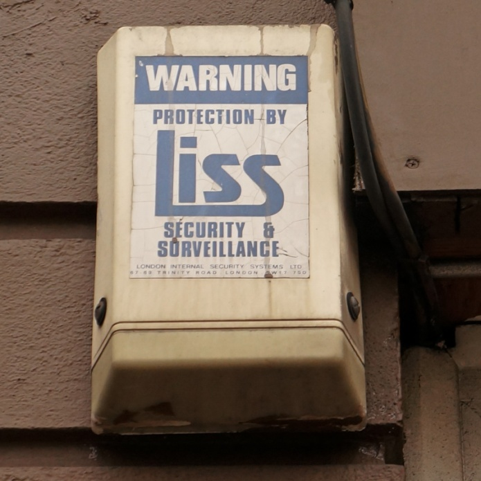 LISS Security & Surveillnce London Internal Security Systems Ltd