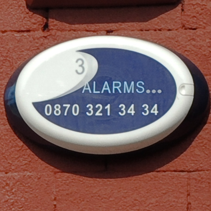3 Alarms...